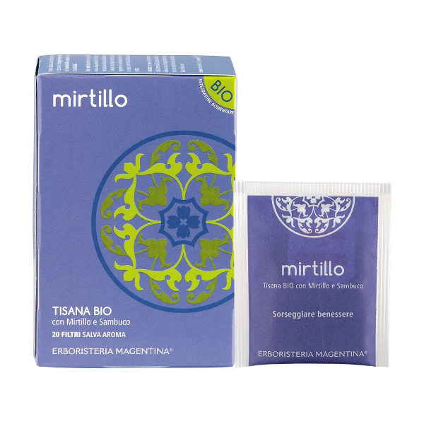 Tisana Bio Mirtillo 20 Filtri