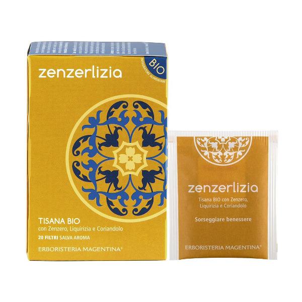 Tisana Bio Zenzerlizia 20 Filtri