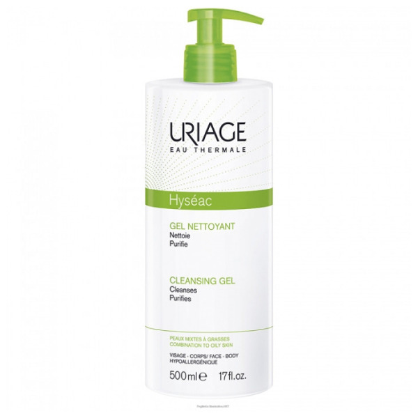 Uriage Hyseac Gel Detergente 500ml